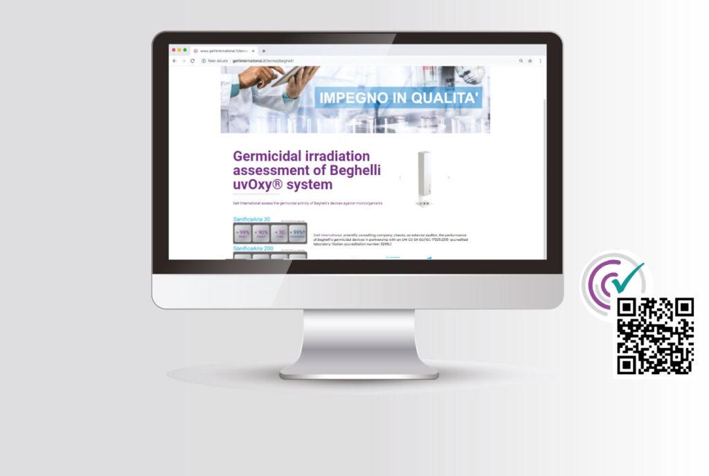 Publicación de las pruebas realizadas por Gelt International y el laboratorio Tecnal